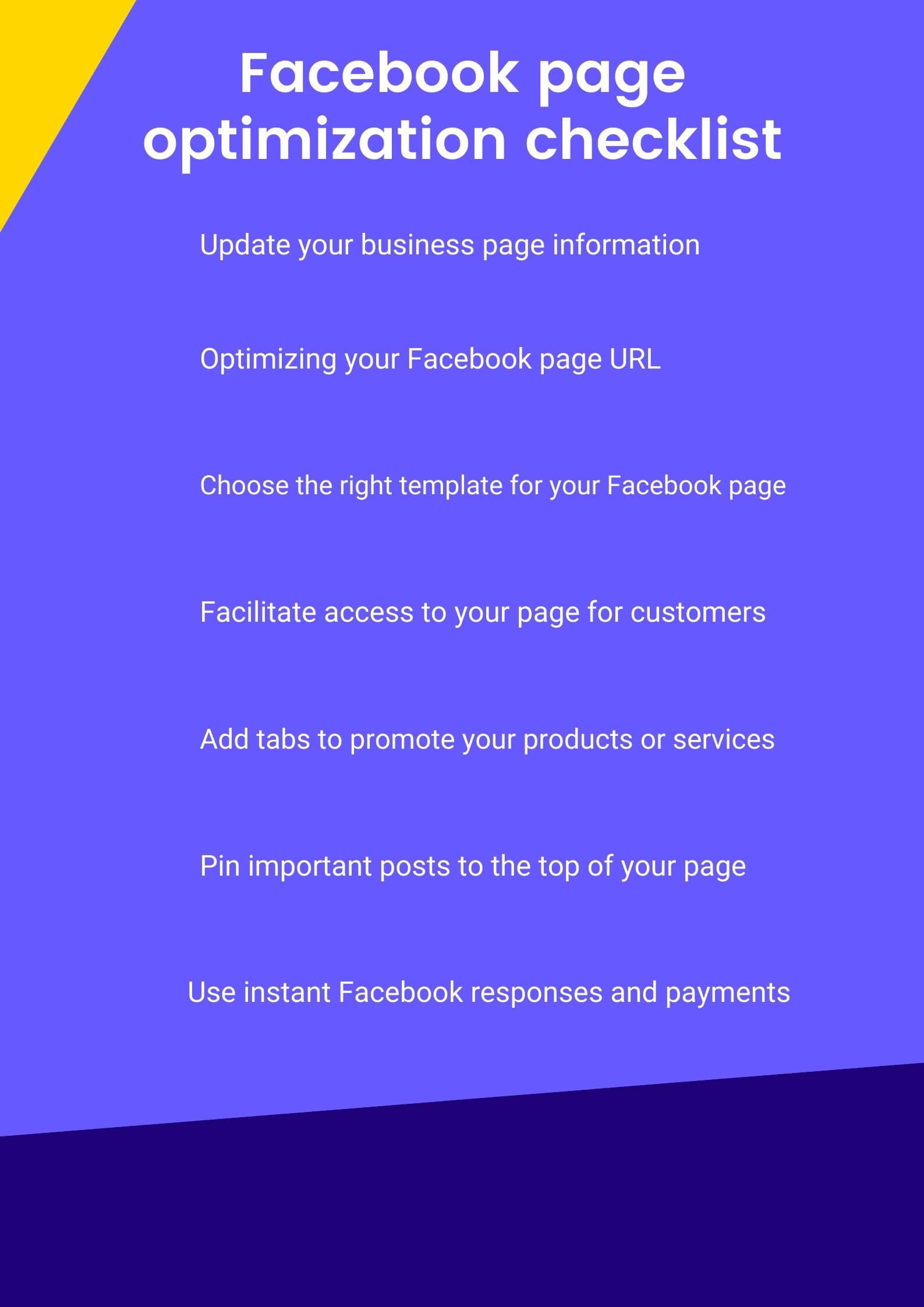 7 ways to optimize your Facebook page