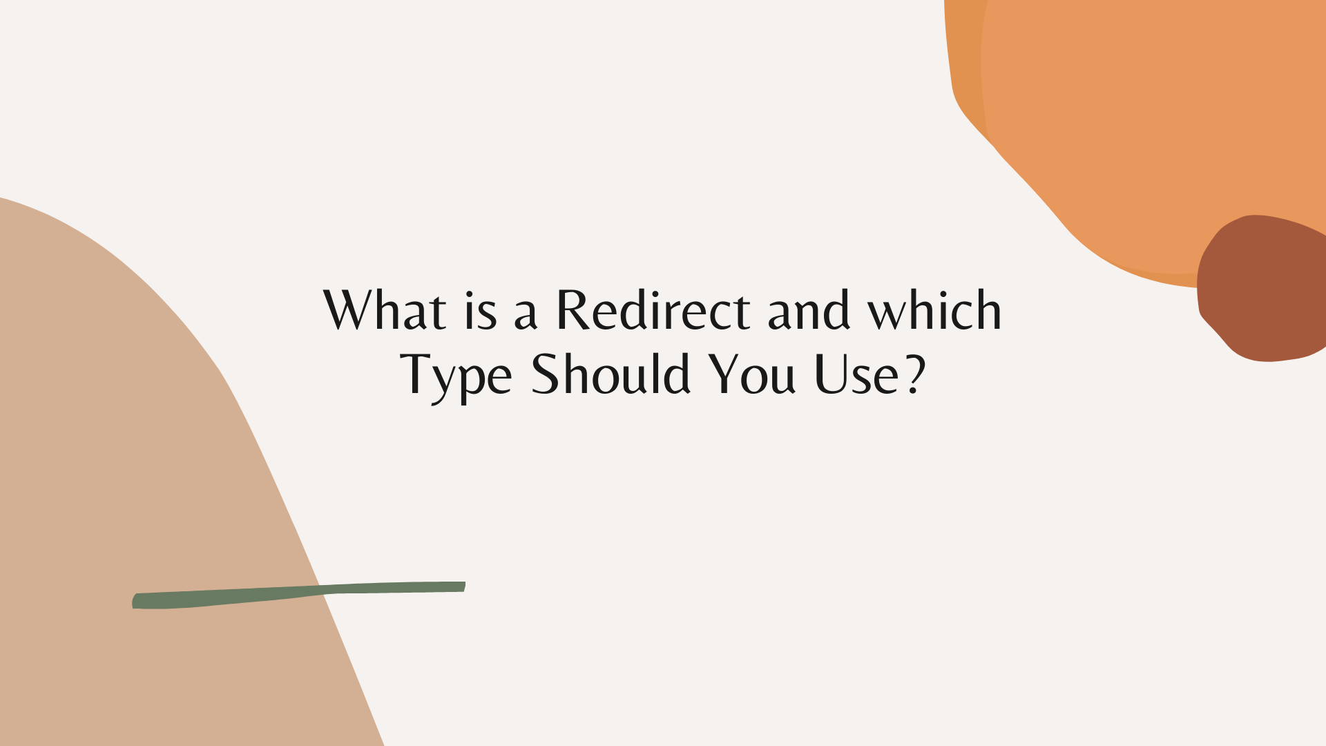 What is a Redirect